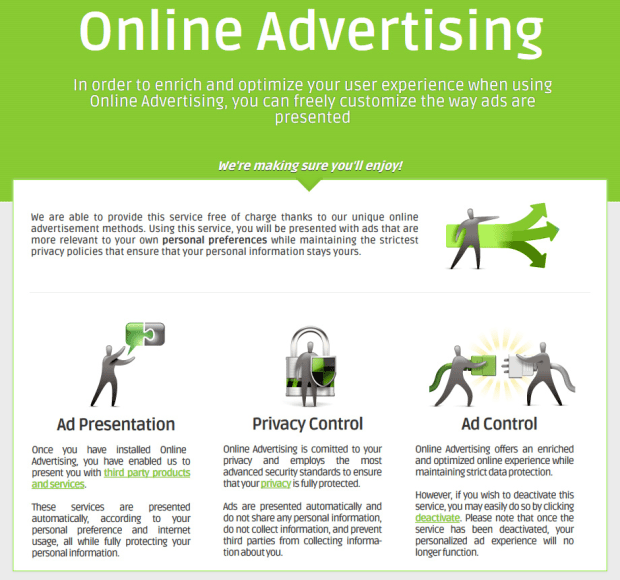 Online Advertising (Ads by Name)