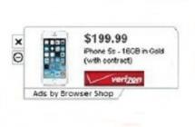 Rimuovere Browser Shop Ads da Chrome, Firefox e Internet Explorer